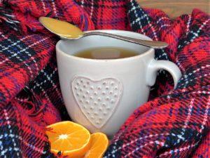 Honig und Tee
