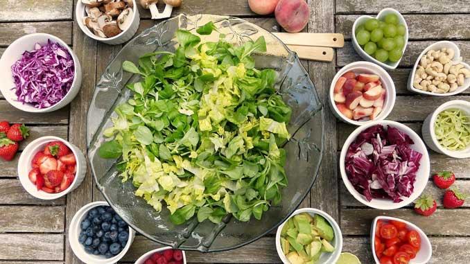 Obst und Gemüse gegen Herzerkrankungen