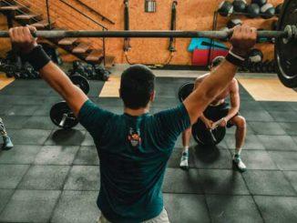 Training mit Gewichtsweste