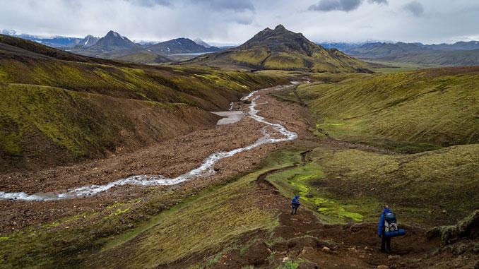 Natur lädt zum Genießen ein - so wie diesen Anblick in Island